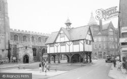 Market Harborough, Old Grammar School c.1965