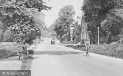 Market Harborough, School Boys, Leicester Road 1922