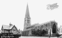 Market Harborough, St Dionysius Church 1922