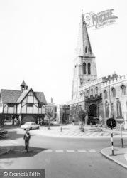 Market Harborough, St Dionysius Church And Old Grammar School c.1965