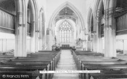 Market Harborough, St Dionysius Church Interior c.1965