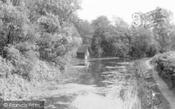 Market Harborough, The Canal c.1965