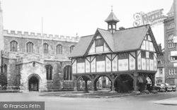 Market Harborough, The Old Grammar School c.1960