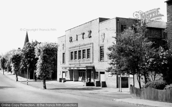 Market Harborough, The Ritz, Northampton Road c.1955