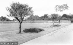 Market Harborough, The Tennis Courts, Welland Park c.1965