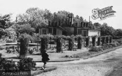 Market Harborough, Welland Park, The Pavilion c.1955
