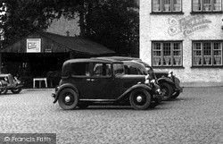 Austin 10 Car c.1955, Market Rasen