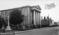 Memorial And Methodist Church c.1960, Market Rasen
