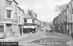 Queen Street c.1955, Market Rasen