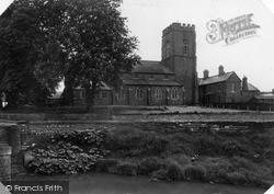 St Thomas Church c.1955, Market Rasen