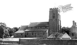 St Thomas Church c.1960, Market Rasen