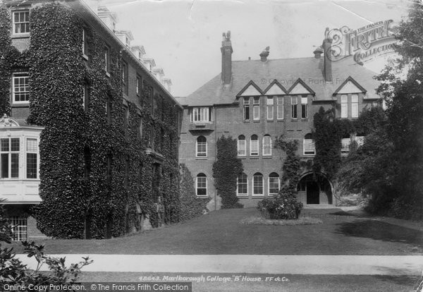 Photo of marlborough college b house 1902 francis frith for B house