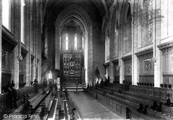 Marlborough, College Chapel 1901