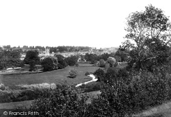 Marlborough, From Granham Hill 1901
