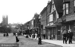 Marlborough, High Street 1907