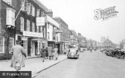 Marlborough, High Street 1950