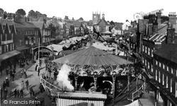 """Marlborough, """"Mop Fair"""" High Street c.1919"""