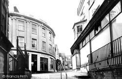 Marlborough, Passage Way To High Street c.1965