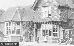 Marlborough, Savernake Hospital c.1907