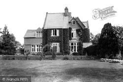 Marlborough, The College, Barton Hill House 1907