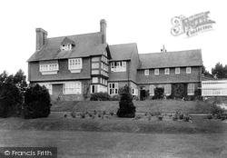 Marlborough, The College, Upcot House 1907