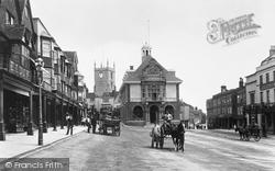 Marlborough, Town Hall 1902