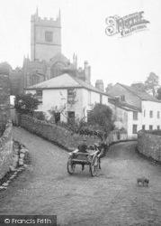 Marldon, St Jon The Baptist's Church 1907