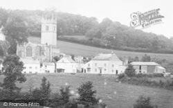 Marldon, The Village And St John The Baptist's Church 1907
