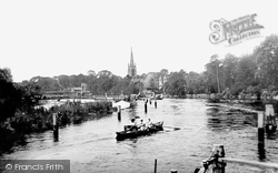 Marlow, All Saints Church And The River Thames 1890