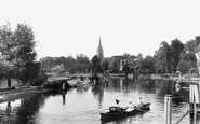 Marlow, From Lock 1901