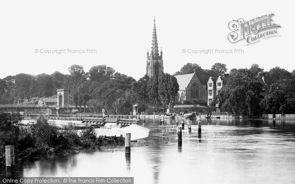 Marlow, from the Lock 1890
