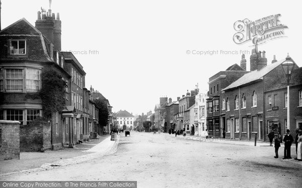 Marlow High Street 1890 Francis Frith