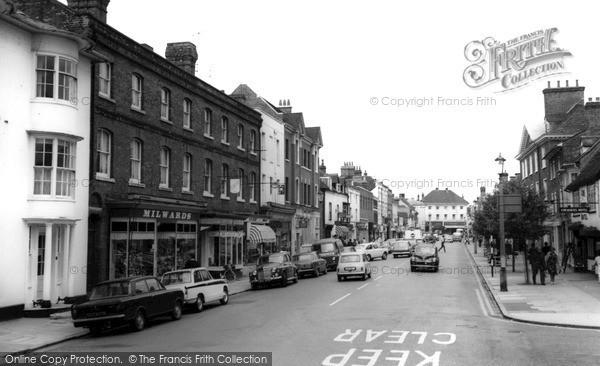 Marlow, High Street c1965