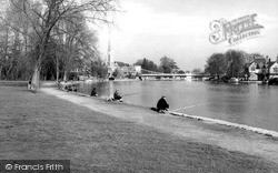 Marlow, River Thames c.1955