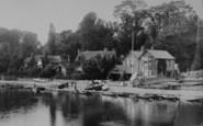 Marlow, Shaw's Boatyard 1890