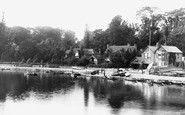 Marlow, The Boat Yard 1890