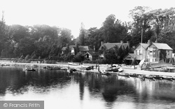 Marlow, The Boat Yard 1890
