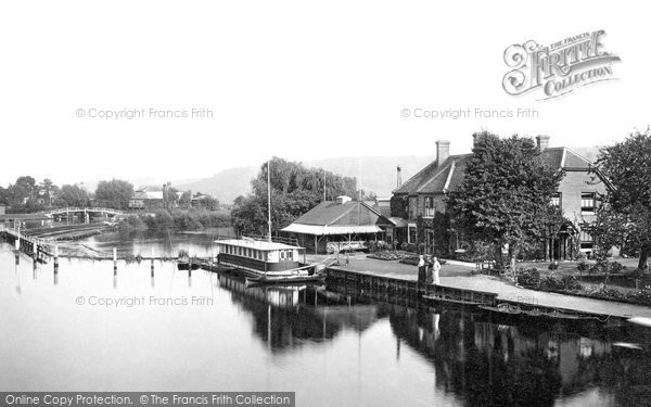 Marlow, The Compleat Angler Hotel 1890