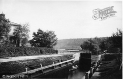 Marlow, The Lock 1890