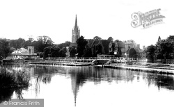 Marlow, The Weir 1901