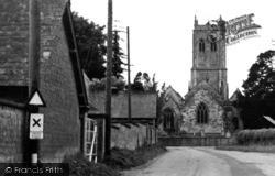 Marnhull, St Gregory's Church 1952