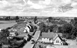 Marnhull, View From The Church c.1955