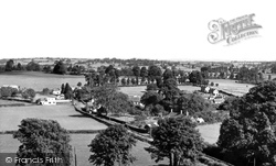 Marnhull, View From The Church c.1960