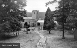 Marrick, The Benedictine Priory Ruins c.1955