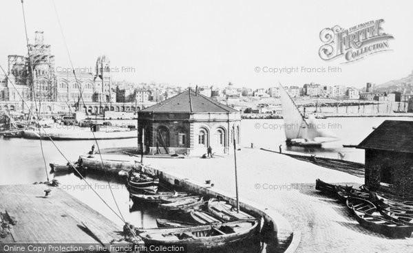 Photo of Marseilles, Grand Harbour c.1873