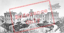 Palais De Longchamp c.1880, Marseilles