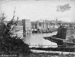 The Old Harbour And Fort Napoleon c.1873, Marseilles