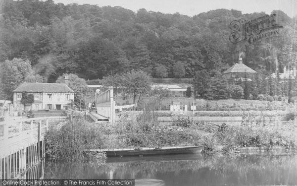 Photo of Marsh Lock, 1890