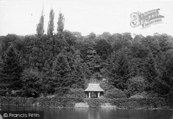 Marsh Lock, Park Place, Fishing Cottage 1890