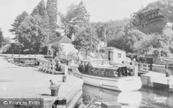 Marsh Lock, The Thames c.1955